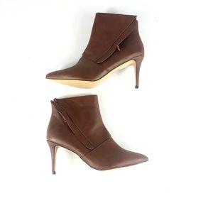 Michael Antonia Women's Brown Heeled Booties